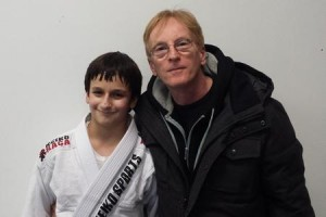 Justin really seems to enjoy the classes and would like to improve and hopes to achieve the rank of black belt